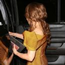 Paula Abdul – Exits Ago restaurant in West Hollywood - 454 x 681