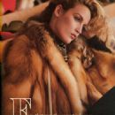Jerry Hall - Harpers Bazaar Magazine Pictorial [United States] (December 1980) - 454 x 578