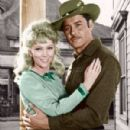 Kathie Browne and Guy Williams