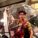 Jake Gyllenhaal as Jimmy Livingston, who creates a more mobile plastic bubble in Touchstone's Bubble Boy - 2001
