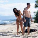 Megan Fox in Bikini on the beach in Kailua-Kona - 454 x 303