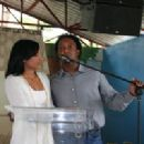 Pedro Martinez and Carolina Cruz