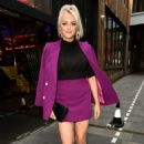 Katie McGlynn – Heads out celebrating her birthday at BLVD in Manchester - 454 x 638