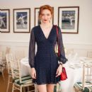 Eleanor Tomlinson – The Polo Ralph Lauren VIP Suite at Wimbledon Tennis Championships in London - 454 x 682