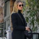 Rosie Huntington Whiteley – Left a restaurant in Los Angeles