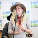 Miley Cyrus – Elvis Duran Z100 Morning Show in NYC - 454 x 569
