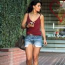 Danielle Campbell Out Shopping in West Hollywood 11/22/2015