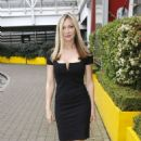 Caprice Bourret Arrives at Excel Business show in London - 454 x 733