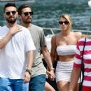 Sofia Richie – Wears white mini skirt while enjoys a day in Portofino – Italy - 454 x 696