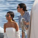 Kendall Jenner and Kourtney Kardashian – Leaving Eden Roc Hotel in Antibes - 454 x 681