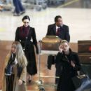 Dita Von Teese – Arrives at Charles de Gaulle Airport in Paris - 454 x 681