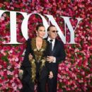 Thalia and Tommy Mottola- 72nd Annual Tony Awards - Arrivals - 454 x 302