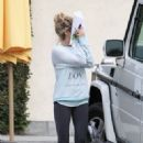 Ashley Tisdale: Leaving the Margarita Mix Studios in Hollywood