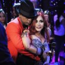"Nicole ""Snooki"" Polizzi and Ne-Yo appear during ""MTV's Club NYE 2013"" at the MTV Times Square Studios on Dec. 31, 2012, in New York"