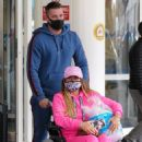 Katie Price – Is seen at the Chelsea and Westminster hospital - 454 x 573