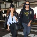Keven Undergaro and Maria Menounos Takes a Flight at LAX