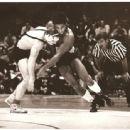 Dan wrestling Lee Kemp