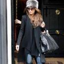 Penelope Cruz out in Madrid, December 21, 2010