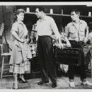 The Pajama Game Original 1954 Broadway Cast Starring John Raitt and Janis Paige . In 1957 Doris Day Starred In The Movie Version Again With John Raitt - 454 x 368