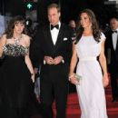 The Duke and Duchess of Cambridge Attend BAFTA Brits To Watch Event