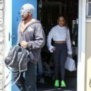 Jennifer Lopez seen leaving a gym after working out in Miami, Florida on March 16, 2017 - 454 x 599