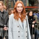 Eleanor Tomlinson – Topshop Unique Show at 2017 LFW in London February 19, 2017 - 454 x 663