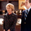 Diane Lane and Dylan Baker in SECRETARIAT