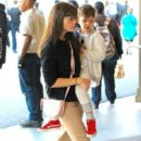 Selma Blair spotted taking her son to see the new movie 'Baby Boss' at the theater at The Grove in Los Angeles,  California March 30th, 2017 - 393 x 600