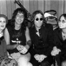 Cindy Laing and Alice Cooper