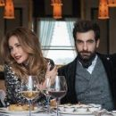Burçin Terzioglu and Ilker Kaleli - Hürriyet Kelebek Newspaper Photo Shoots - 454 x 257
