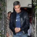 George Clooney: Dining Out in Studio City