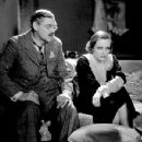 Lionel Barrymore and Joan Crawford