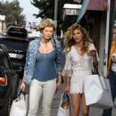 AnnaLynne and Angel Mccord Leaves Revolve Social Club in LA - 454 x 681