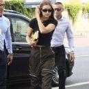 Gigi Hadid – Out during Milan Fashion Week