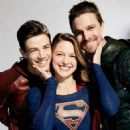 Supergirl, the Flash and Arrow