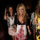 Liz McClarnon - Arrives At The Liverpool Fashion Week 13.03.2008