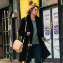 Mischa Barton – Walking her Dogs in Manhattan - 454 x 684
