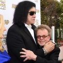 Gene Simmons and Paul Williams attend the 32nd Annual ASCAP Pop Music Awards held at The Loews Hollywood Hotel on April 29, 2015 in Hollywood, California. - 454 x 599