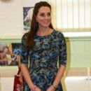 Kate Middleton visits a children's center in Smethwick  (February 18, 2015)