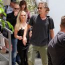 Britney Spears (with Jason Trawick) out for 'X-Factor' in Miami (July 24) - 454 x 670