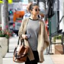 Selena Gomez – Grabs a late breakfast in Hollywood