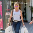 Nicollette Sheridan – Shopping Candids in Calabasas