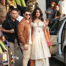 Priyanka Chopra and Nick Jonas – Arriving at the Mumbai Airport