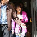Lea Michele Leaving BBC Radio 2 studios in London - 454 x 773