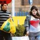 Sergio Aguero and Giannina Maradona