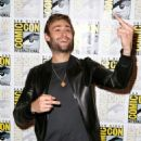 "Actor Douglas Booth attends the ""Pride And Prejudice And Zombies"" photo call during Comic-Con International 2015 at the Hilton Bayfront on July 11, 2015 in San Diego, California"