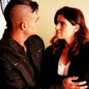 Mark Salling and Idina Menzel