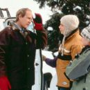 Chevy Chase, Mark Webber and Schuyler Fisk in Paramount's Snow Day - 2000