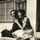 Claudette Colbert and Joan Crawford