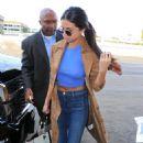 Selena Gomez Lax Airport In Los Angeles 2